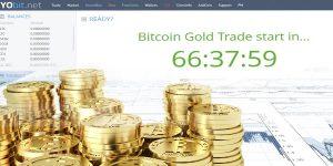 Bitcoin Gold возможно будет получить на бирже Yobit