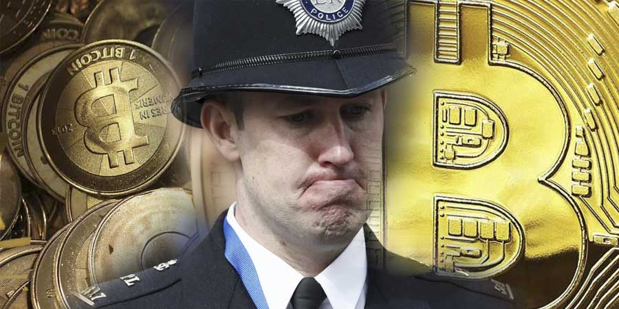 Английская полиция осуществило изъятие биткоинов на сумму в $1.5 млн.