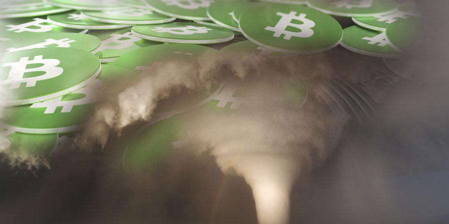 Bitcoin-Cash судороги